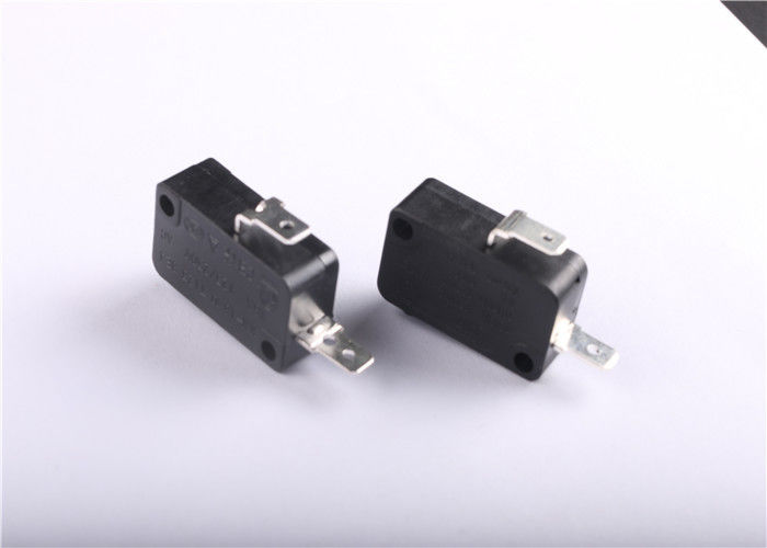 5A 250V AC Snap Limit Switch  , Automotive Micro Switch Short Roller Hinge Lever