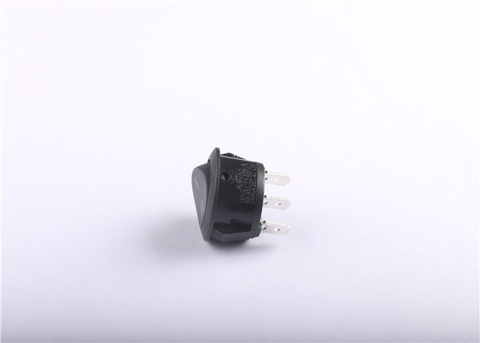 BR13 Ip65 Waterproof Round Rocker Switch 20mm With Customized Color