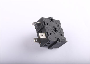 Self Locking Rotary Selector Switch 250V For Microwave Ovens Thermal Switch