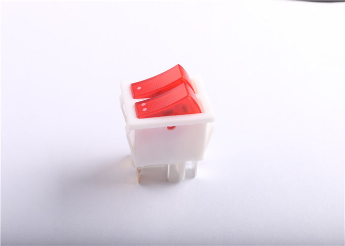 High Current Illuminated Rocker Switch 30A 250V For Industrial Equipment